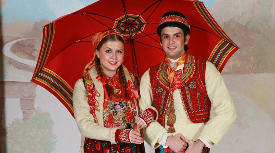 National costumes of the Croats in the world